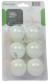 Míčky na stolní tenis 6 ks TUNTURI bílé
