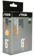 Pingpongový stůl  STIGA CUP ABS orange 6-pack