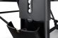 SPONETA Design Line - Black Indoor - otevřený držák na pálky